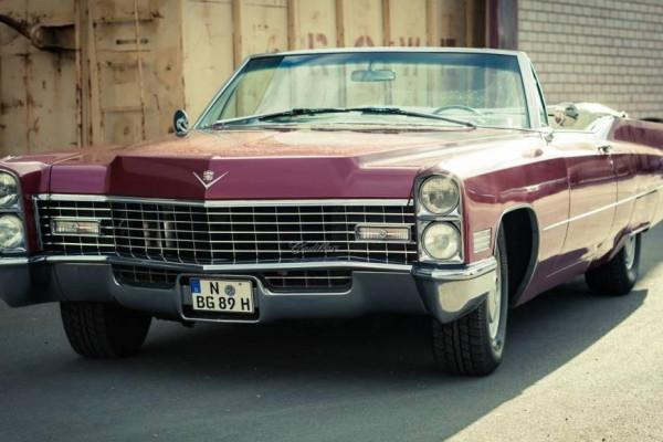 Cadillac de Ville Cabrio in Frankfurt