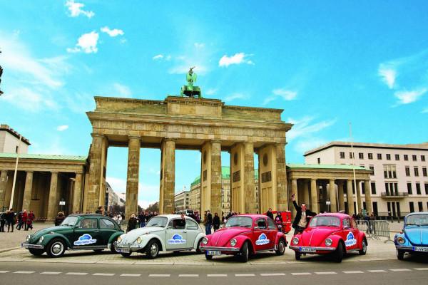 Oldie Käfer Tour / Brandenburger Tor