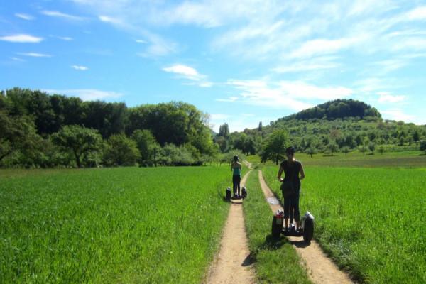 Segway-Tour durchs Grüne im Lenniger Tal