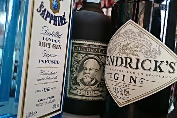 Gin Tasting im Gasthof zur Ziegelhütte in Idstein