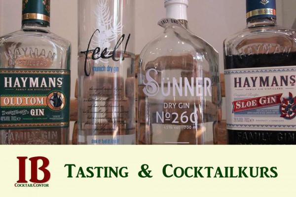 Gin-Tasting- und -Cocktailkurs