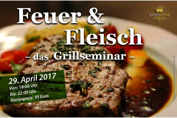 Feuer & Fleisch - das Grillseminar