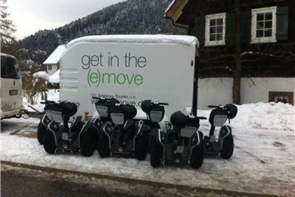 Segway-Winter-Tour in Baiersbronn