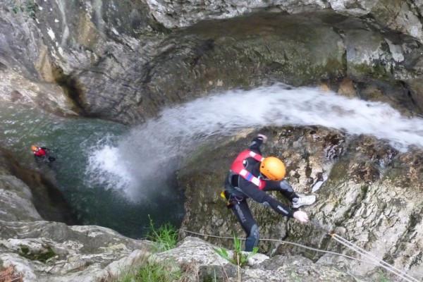 Canyoning Lago di Garda, Trentino #lolgarda