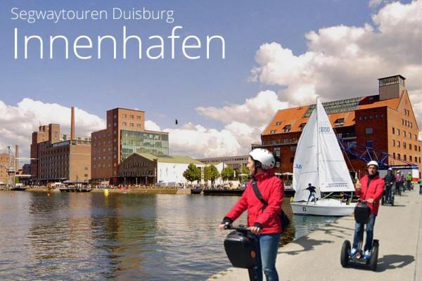 Segwaytouren in Duisburg, zwei Strecken zur Auswahl