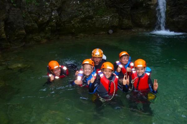 Family Canyoning Lago di Garda Valle di Ledro Trentino #lolgarda