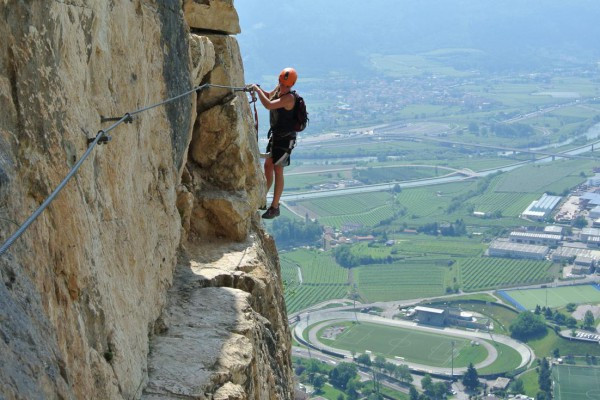 #montealbano #viaferrata #lolgarda #mori