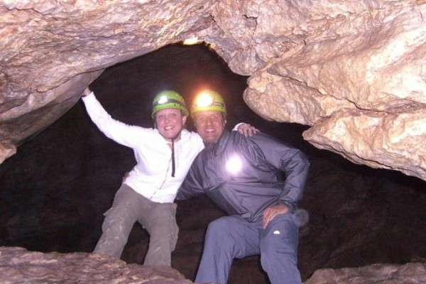 Höhlenwanderung - Trickelfall