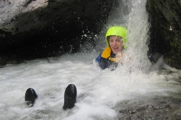 Canyoning - Schluchtenwandern in der Almbachklamm