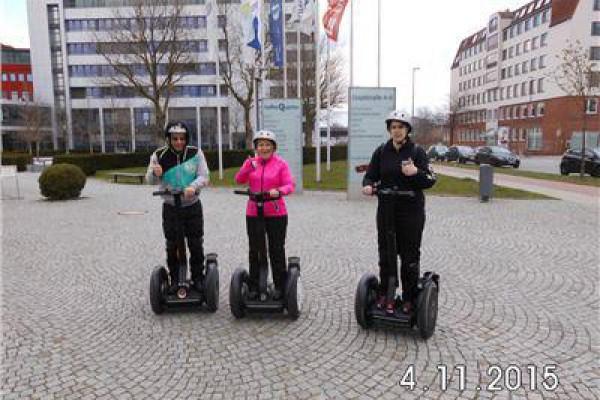 Segway fahren in Bremen an der Weser