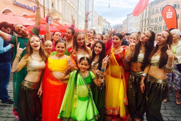 Bollywood Tanzshow Stadtfest