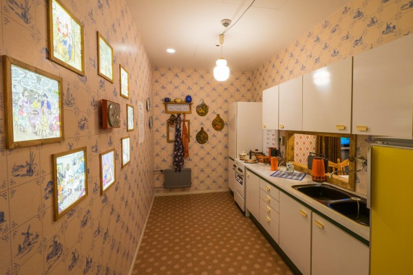 Plattenbauwohnung, Küche