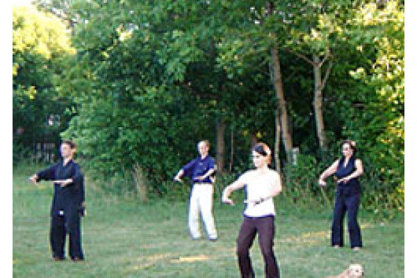 Übungen im Freien