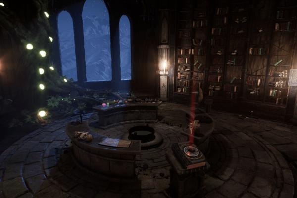 Die Kammer des Magiers!
