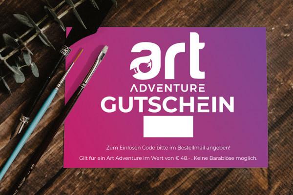 Art Adventure Gutschein - das perfekte Geschenk