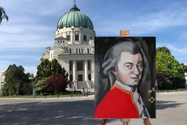Paint Your Souvenir - Mozart