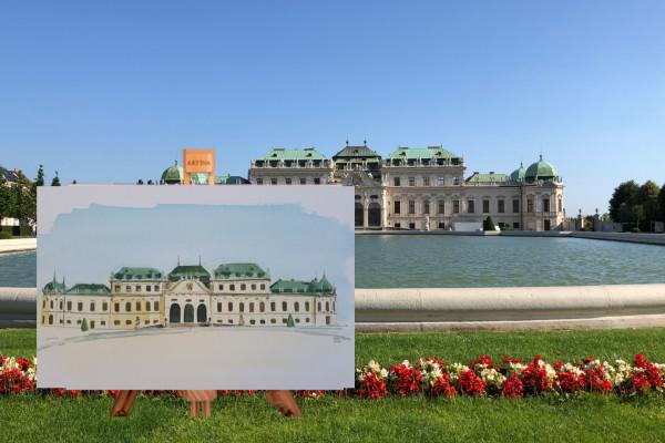 Paint Your Souvenir - Schloss Belvedere