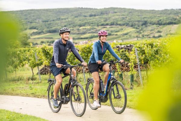eBike Verleih Retzer Land - 400 km Radwege warten auf Sie! Foto: Weinviertel Tourismus / Herbert Herbst