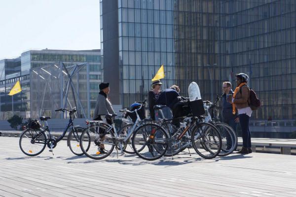 Paris guided bike tour