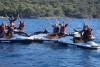 Randonnée accompagnée en jet ski  Baie de Cannes 4 h