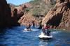 Randonnée accompagnée en jet ski au Cap Estérel 1h30