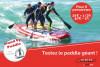 Stand up paddle GEANT - Plage du débarquement
