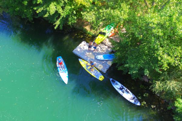kayak paddle frejus - ponton