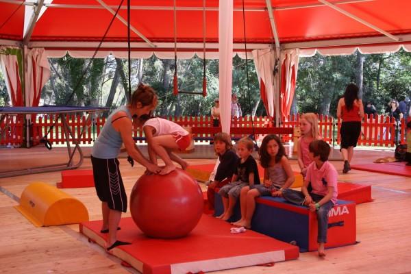 école de cirque enfant - saint raphaël