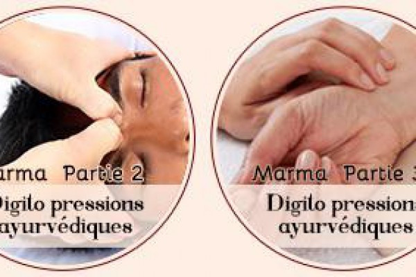 Massage Marma - digito pressure selon l'ayurveda - approfondissement