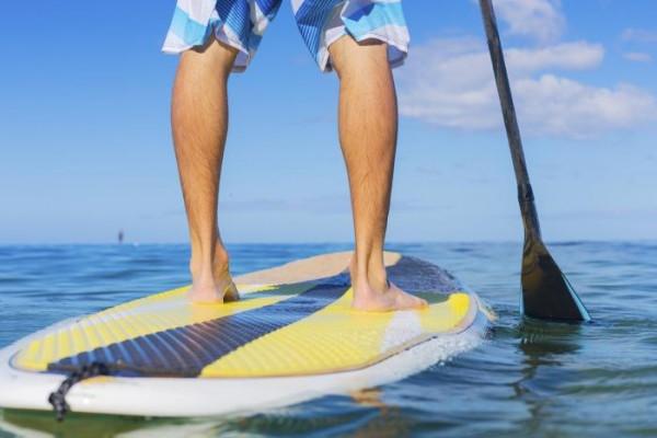 Paddle au lac de Saint-Cassien avec Okwide