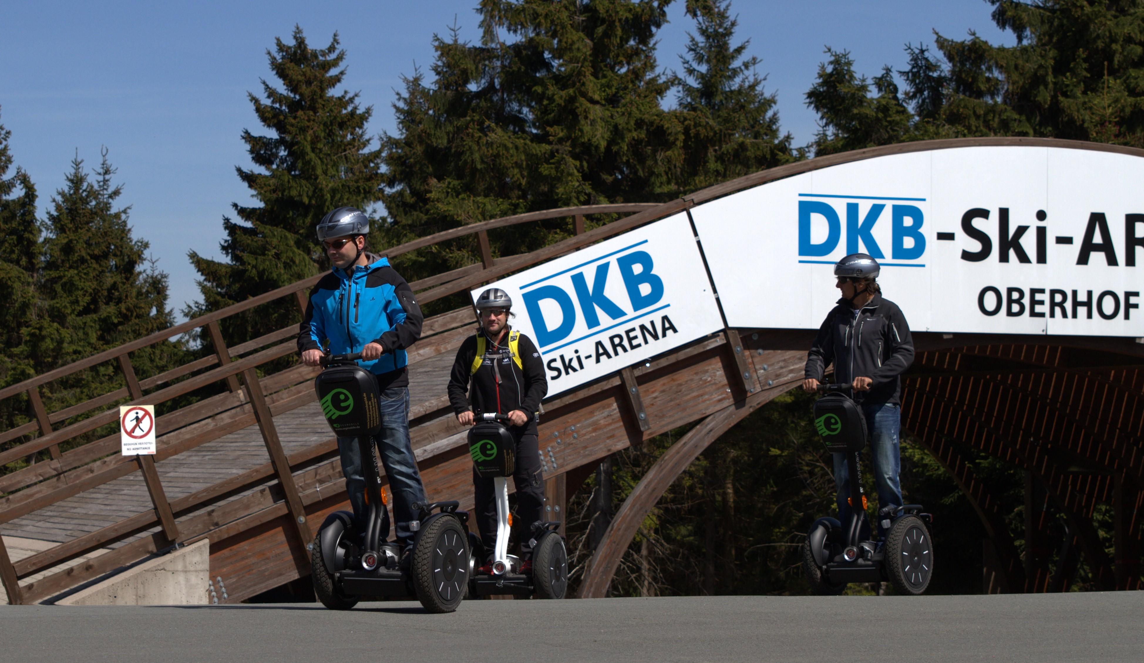 Segway-Tour in Oberhof – Weltcup-Sportstätten