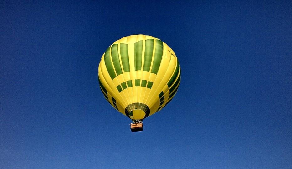 Ballonfahrt in Halle in Bernburg