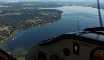 Rundflug über München im Ultraleichtflugzeug