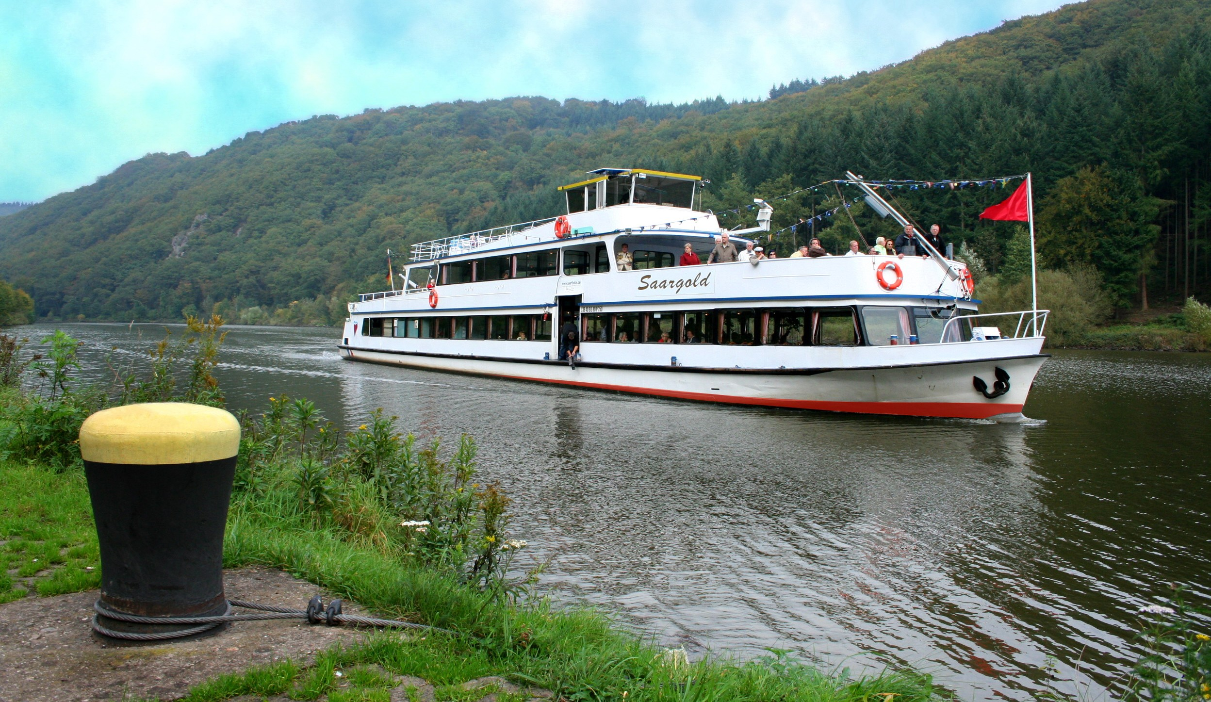 Schifffahrt von Saarburg nach Mettlach
