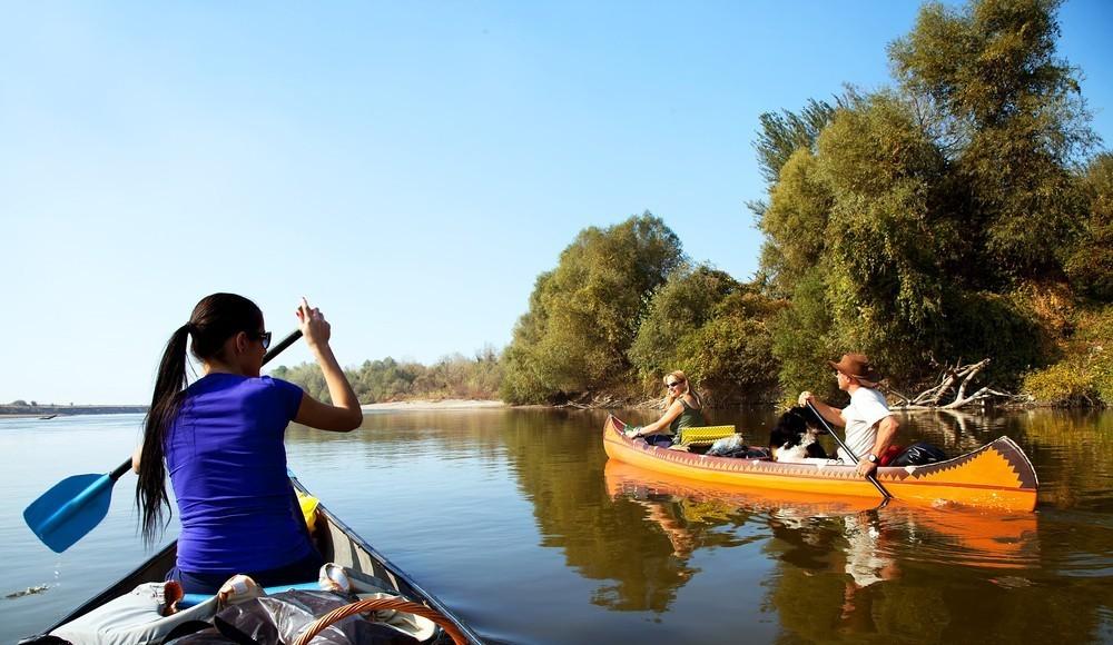 Kanu-Tour von Kleineutersdorf nach Jena Burgau - Obere Saale
