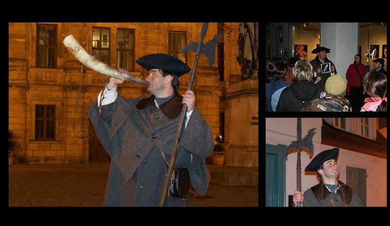 Klassische Nachtwächter-Stadtführung durch Erlangen