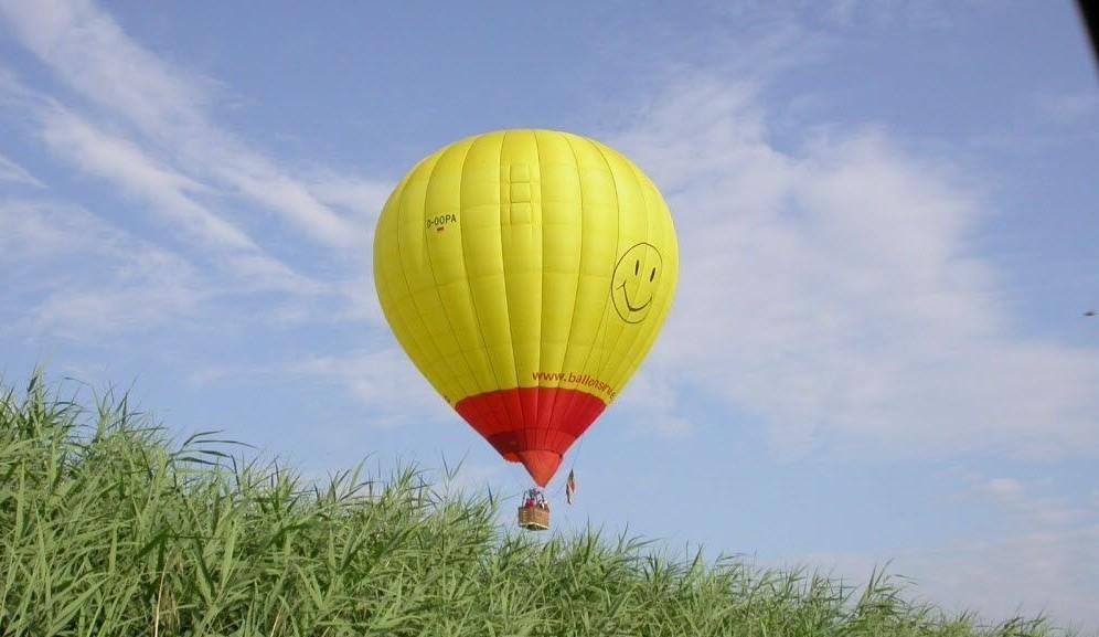 Ballonfahrt über Augsburg - Schwaben von oben