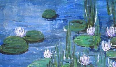 Monet-Malkurs für Kinder in München-Schwabing