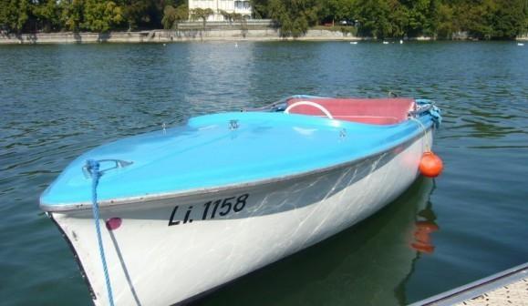 Elektroboot fahren auf dem Bodensee in Lindau
