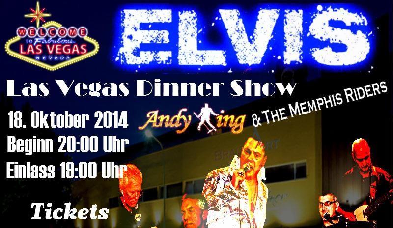 Elvis Las Vegas Show Dinner in Neckarsulm