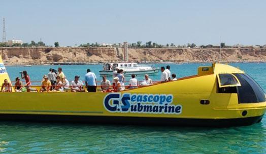 U-Boot-Tour ab Hurghada Hurghada