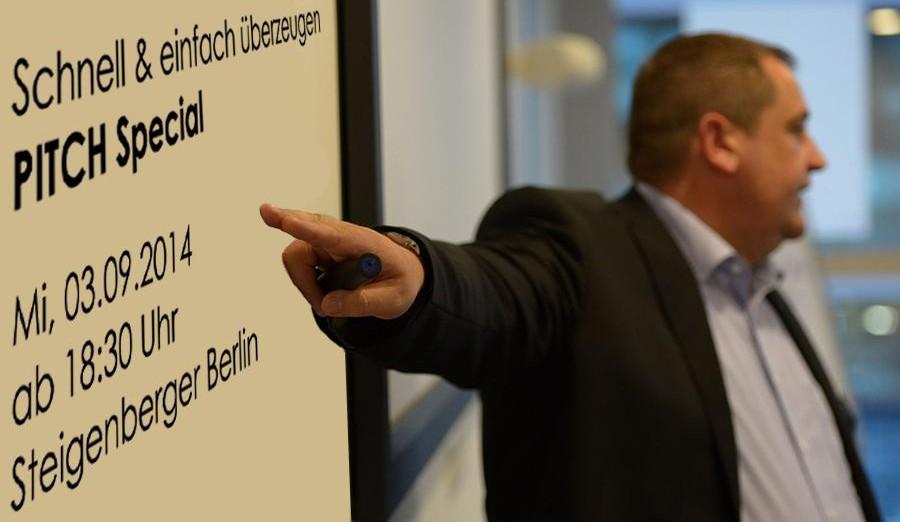 Rhetorik Seminar: Schnell und einfach überzeugen - PITCH Special! in Berlin