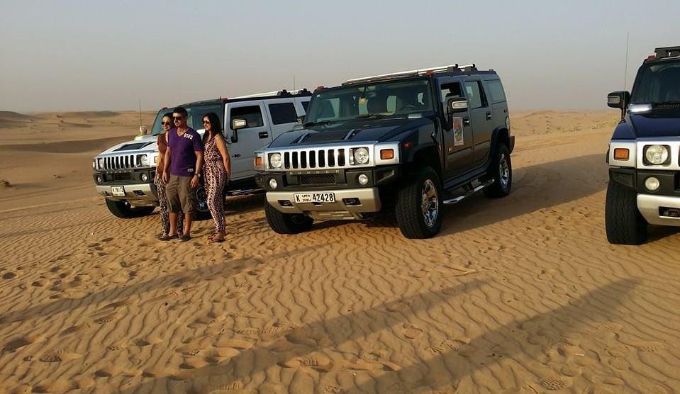 Hummer-City-Tour in Dubai