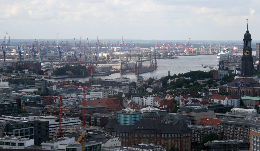 Stadtführung Hamburg von oben