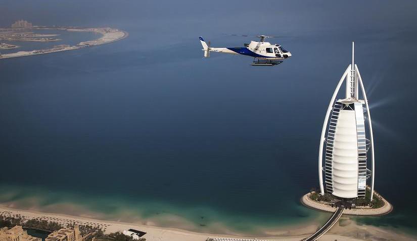 Helikopterrundflug über Dubai
