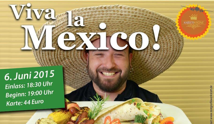 Viva Mexico! - Mexikanischer Abend in Senftenberg