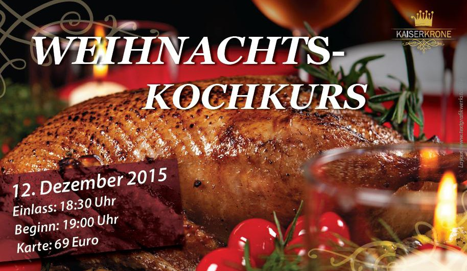 Weihnachts-Kochkurs 2015 in Senftenberg
