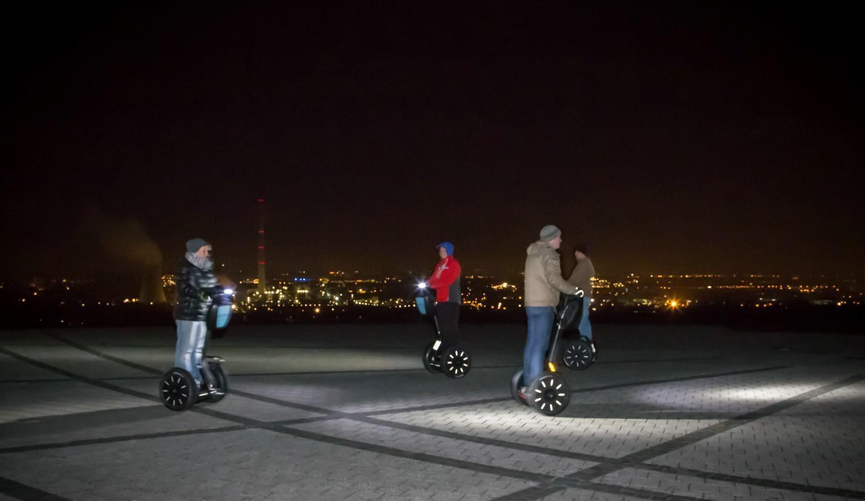 Segway-Tour in Herten bei Nacht - Zappenduster