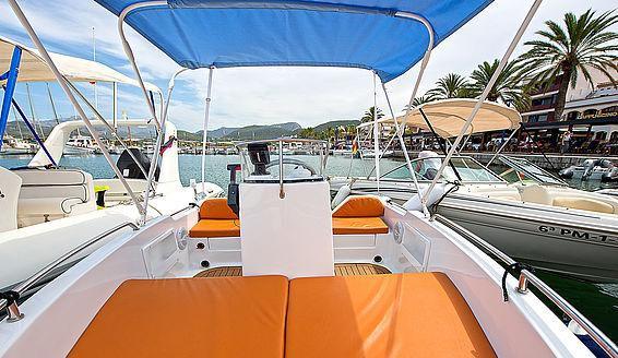 Sportboot Mieten in Mallorca - Ohne Bootsführerschein