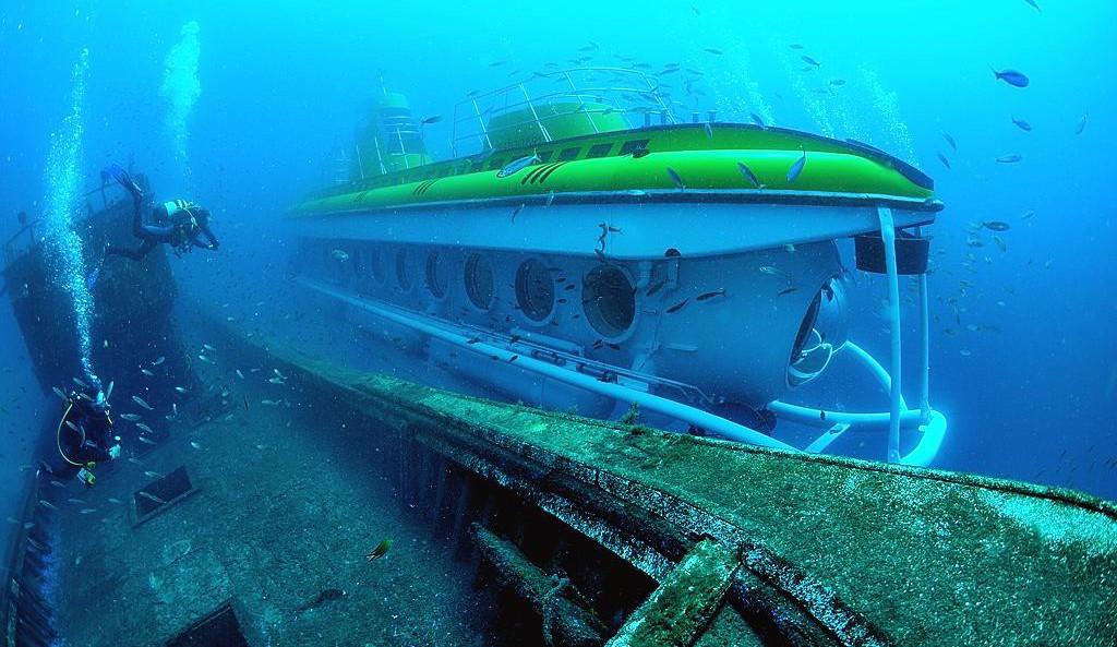 U-Boot-Abenteuer bei Lanzarote Puerto Calero